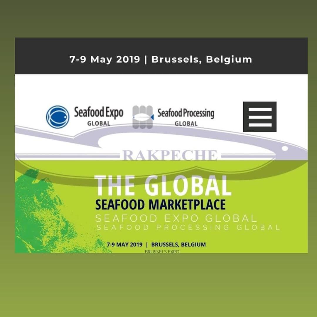 vi aspettiamo al Seafood Expo Global dal 7 al 9 maggio 2019